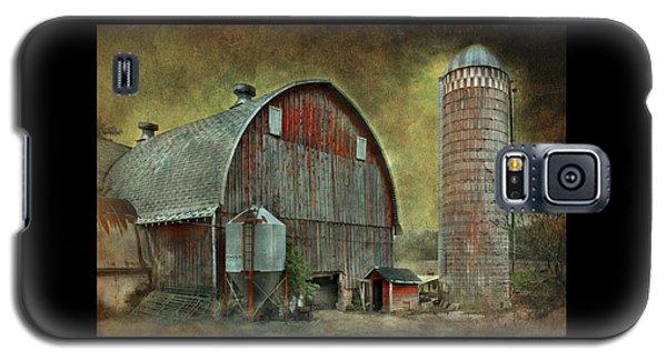 Wisconsin Barn - Series Galaxy S5 Case by Jeff Burgess