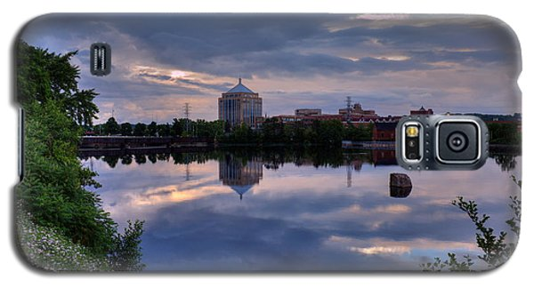 Wisconsin River Reflection Galaxy S5 Case