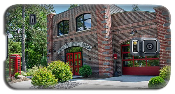 Galaxy S5 Case featuring the photograph Wisconsin State Firefighters Memorial 6 by Susan  McMenamin