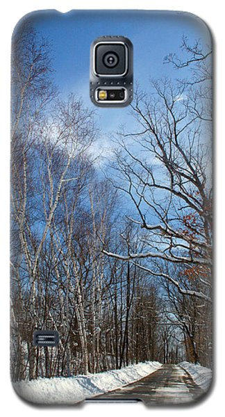 Wisconsin Winter Road Galaxy S5 Case