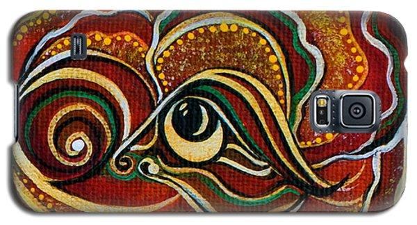 Wisdom Spirit Eye Galaxy S5 Case by Deborha Kerr
