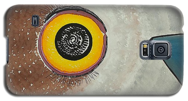 Wise Owl Original Painting Galaxy S5 Case