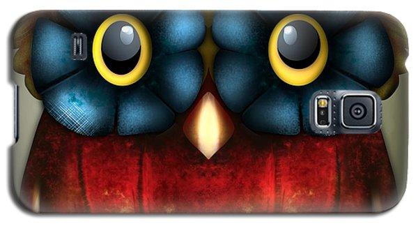 Wise Pumpkin Owl Galaxy S5 Case