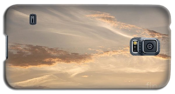 Galaxy S5 Case featuring the photograph Wispy Sunset by Debi Dmytryshyn