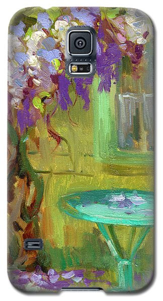 Wisteria At Hotel Baudy Galaxy S5 Case by Diane McClary