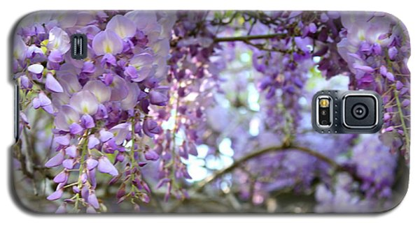 Galaxy S5 Case featuring the photograph Wisteria Dream by Cathy Dee Janes