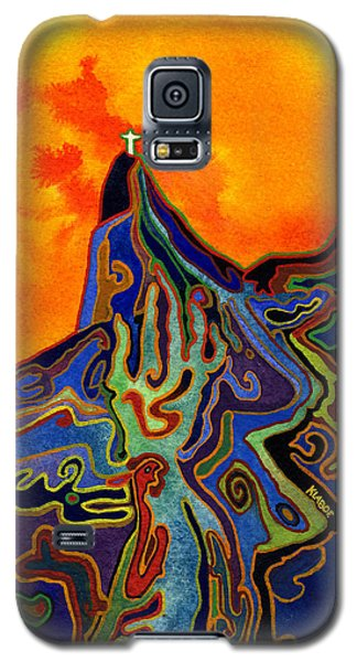 Galaxy S5 Case featuring the painting Witchcraft In Brazil by David Klaboe
