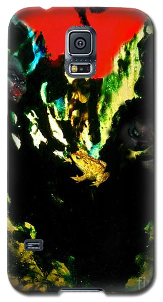 Galaxy S5 Case featuring the mixed media Witches' Sabbath by Steed Edwards