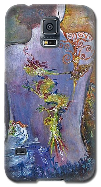 With A Little Help From My Friends Galaxy S5 Case by Diana Bursztein