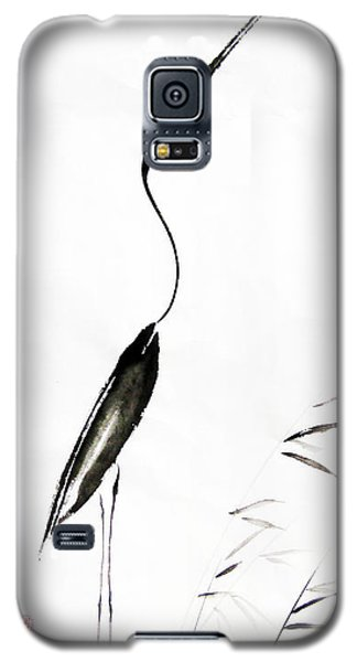 Egret Galaxy S5 Case - With My Head Held High by Oiyee At Oystudio