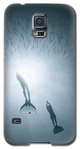 Mermaid Galaxy S5 Case - With Nature As One by Andrey Narchuk