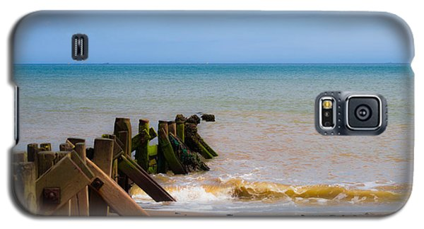 Withernsea Groynes Galaxy S5 Case