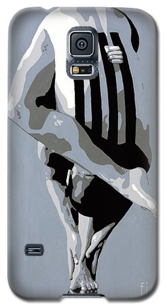 Galaxy S5 Case featuring the painting Within by Denise Deiloh