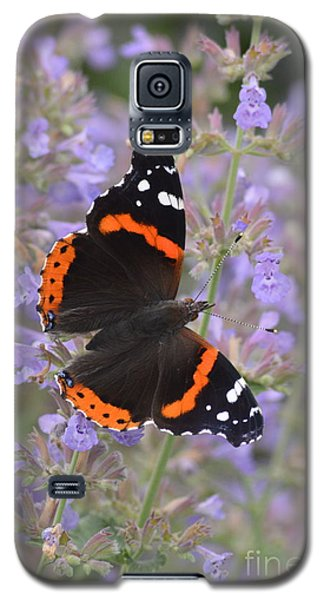 Within Lavender Galaxy S5 Case