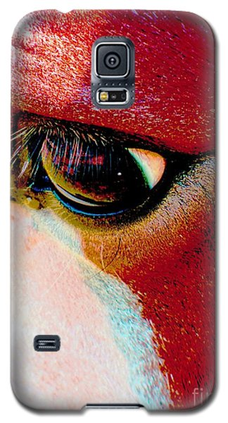Within The Horse's Eyes Galaxy S5 Case by Annie Zeno