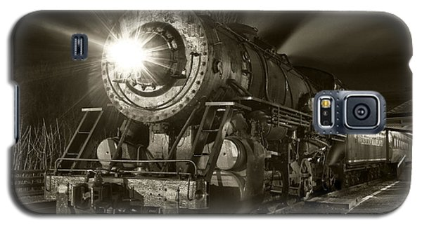 Wmsr Engine 734 At The Frostburg Depot Galaxy S5 Case