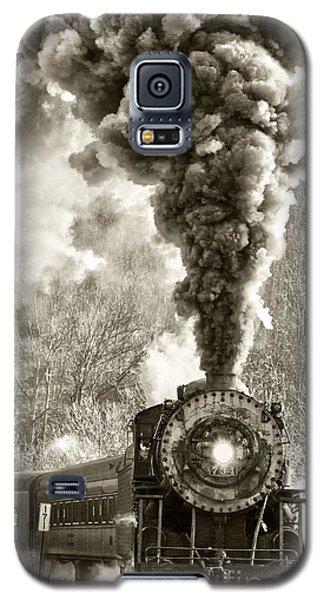 Wmsr Steam Engine 734 Galaxy S5 Case by Jeannette Hunt