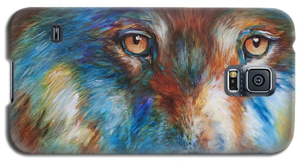 Wolf Abstract 3618 Galaxy S5 Case
