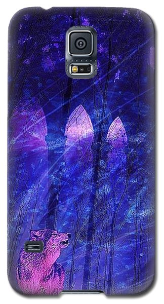 Wolf And Magic Galaxy S5 Case