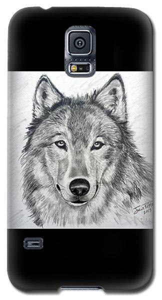 Wolf Galaxy S5 Case by Julie Brugh Riffey