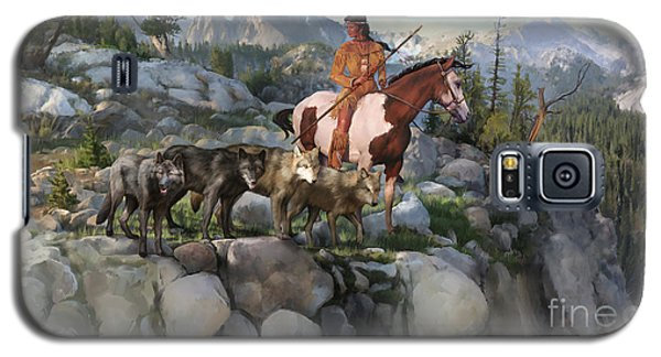 Wolf Maiden Galaxy S5 Case