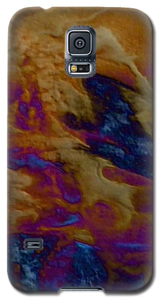 Galaxy S5 Case featuring the painting Wolf by Mike Breau