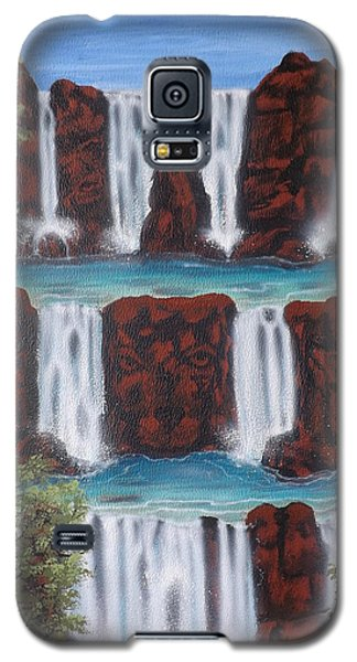 Wolf Spirit Falls Galaxy S5 Case