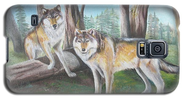 Wolves In The Forest Galaxy S5 Case