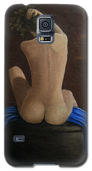 Woman Alone In Room Galaxy S5 Case
