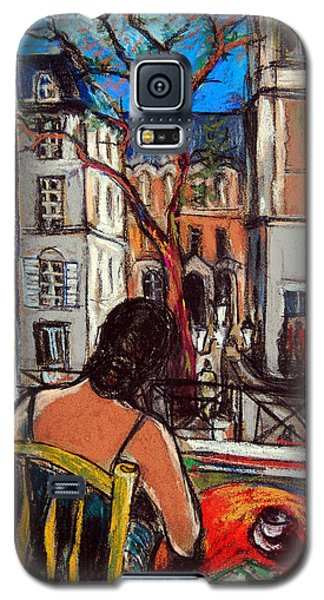 Woman At Window Galaxy S5 Case