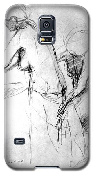 Woman Bathing-study Galaxy S5 Case