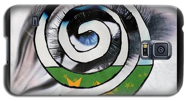 Woman Eye Spral Galaxy S5 Case