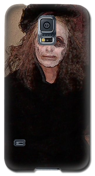 Woman In Black - Halloween At The Desoto House Hotel Galaxy S5 Case