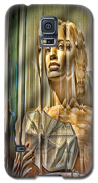 Woman In Glass Galaxy S5 Case