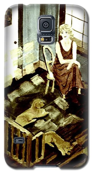 Woman In The Window Galaxy S5 Case