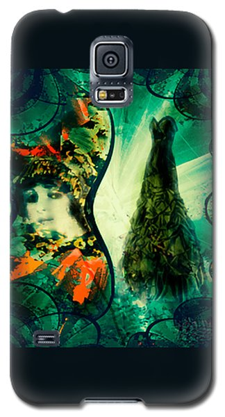 Green Mystery Montage Galaxy S5 Case