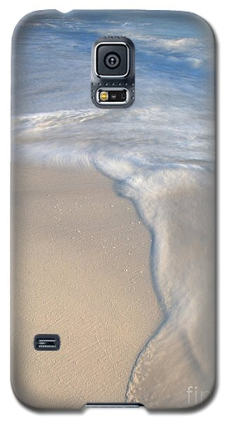 Galaxy S5 Case featuring the photograph Woman On Beach by Chris Scroggins