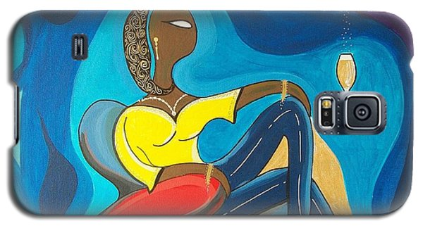 Woman Sitting In Chair Surrounded By Female Spirits Galaxy S5 Case