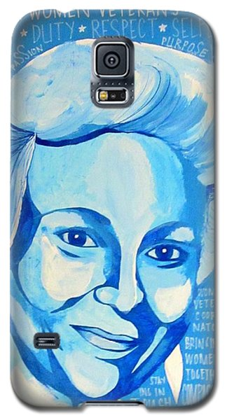 Woman Veteran Gabe Galaxy S5 Case