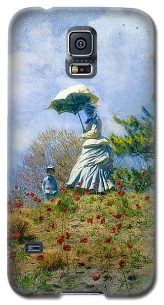 Woman With Parasol Galaxy S5 Case