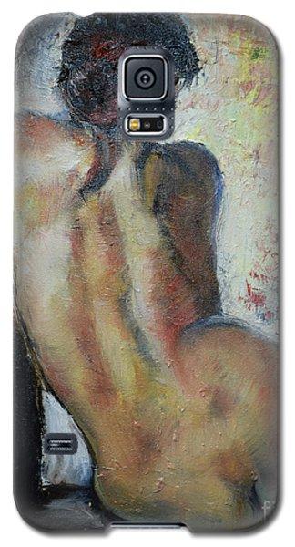 Woman's Back  Galaxy S5 Case