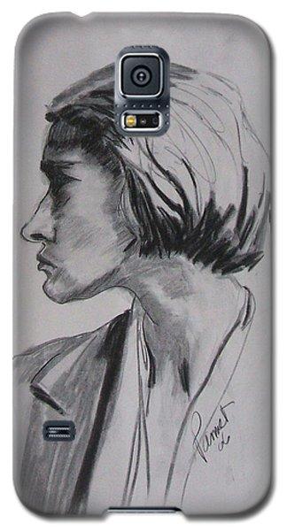 Woman's Profile Galaxy S5 Case