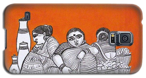 Women Vendors In Market Galaxy S5 Case
