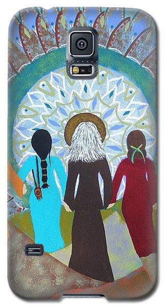 Women's Circle Mandala Galaxy S5 Case