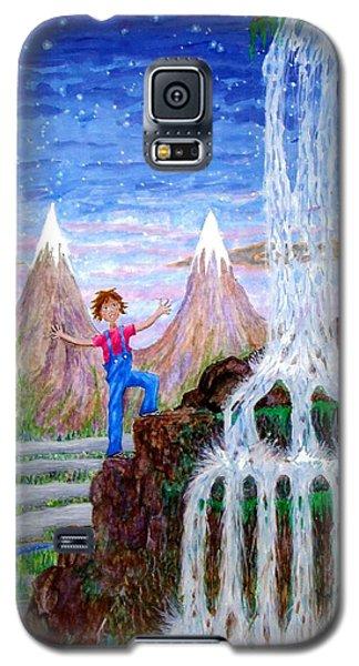Galaxy S5 Case featuring the painting Wonder by Matt Konar