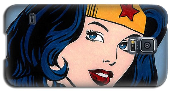 Superhero Galaxy S5 Case - Wonder Woman by Brian Broadway