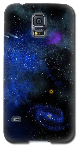 Wonders Of The Universe Mural Galaxy S5 Case