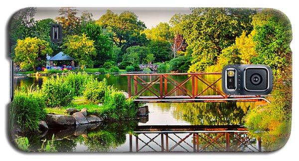 Wood Bridge Reflection Galaxy S5 Case