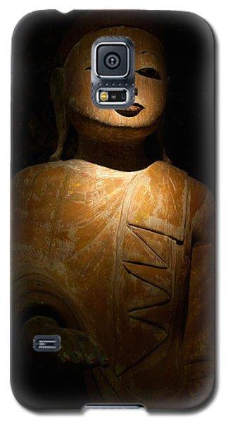 Wood Buddha Statue Galaxy S5 Case