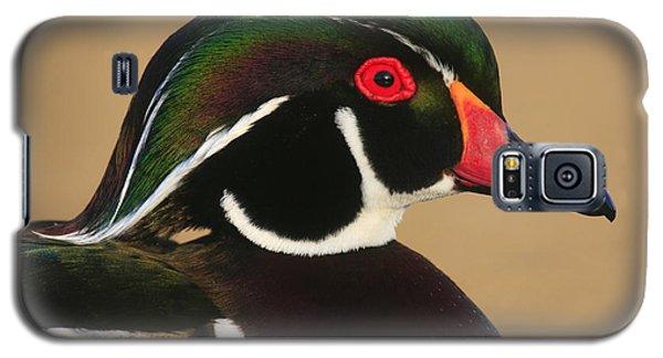 Wood Duck Color Galaxy S5 Case